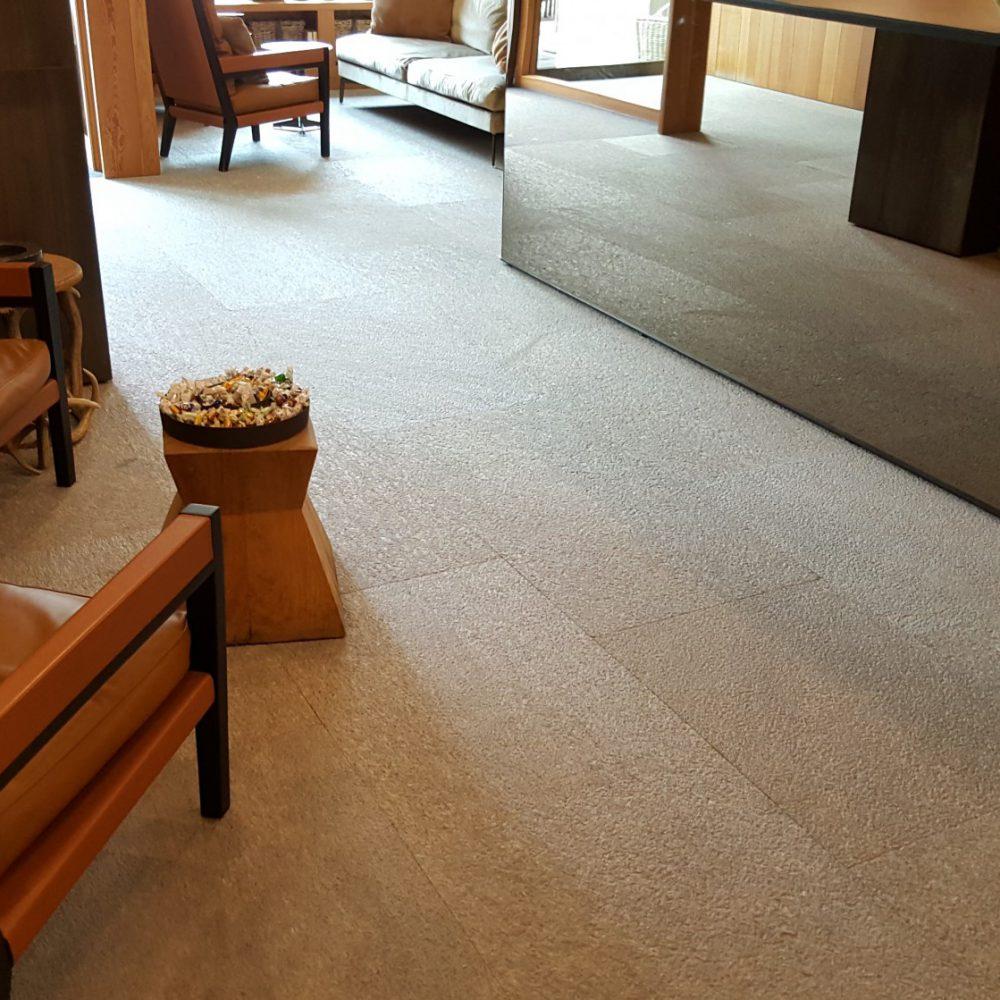 Hotel Eden Bormio - pavimentazione in marmo della Valmalenco