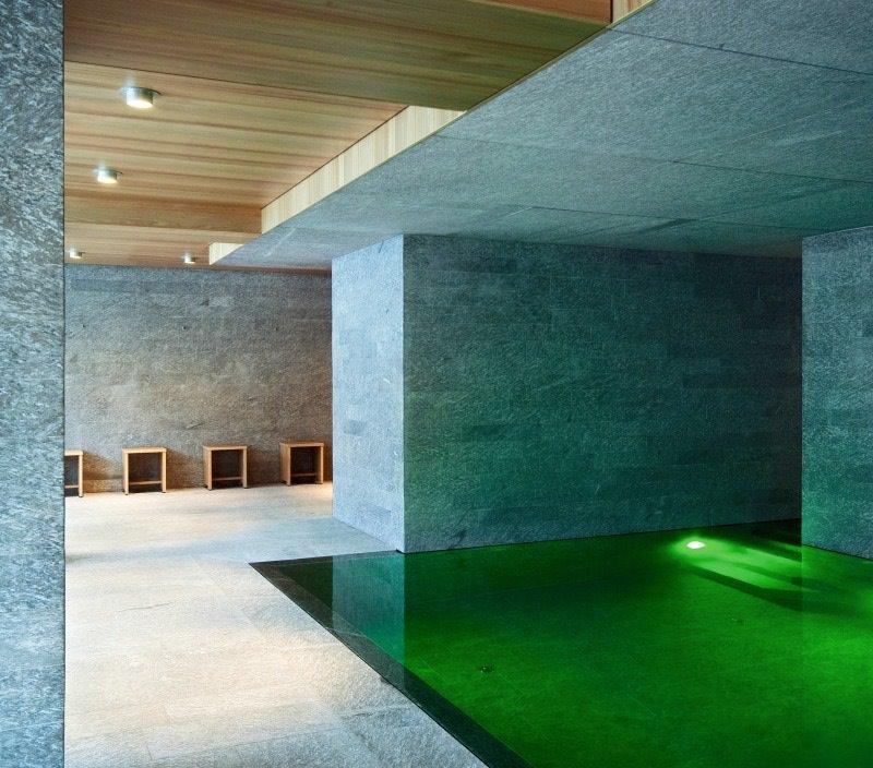Hotel Alpenhof in Austria - interni in marmo della Valmalenco