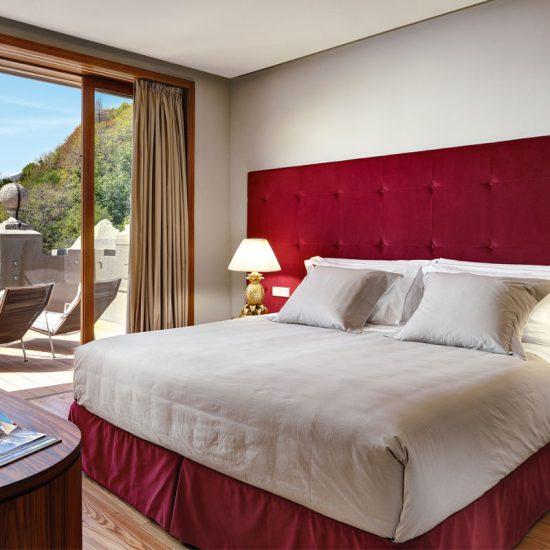 camera lussuosa presso Grand Hotel Tremezzo