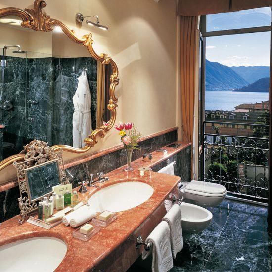 Hotel Tremezzo: lusso e marmo rosso