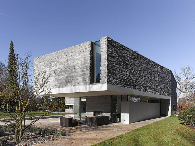 HouseM a Grunwald - Germany - edificio con marmo e granito della Valmalenco