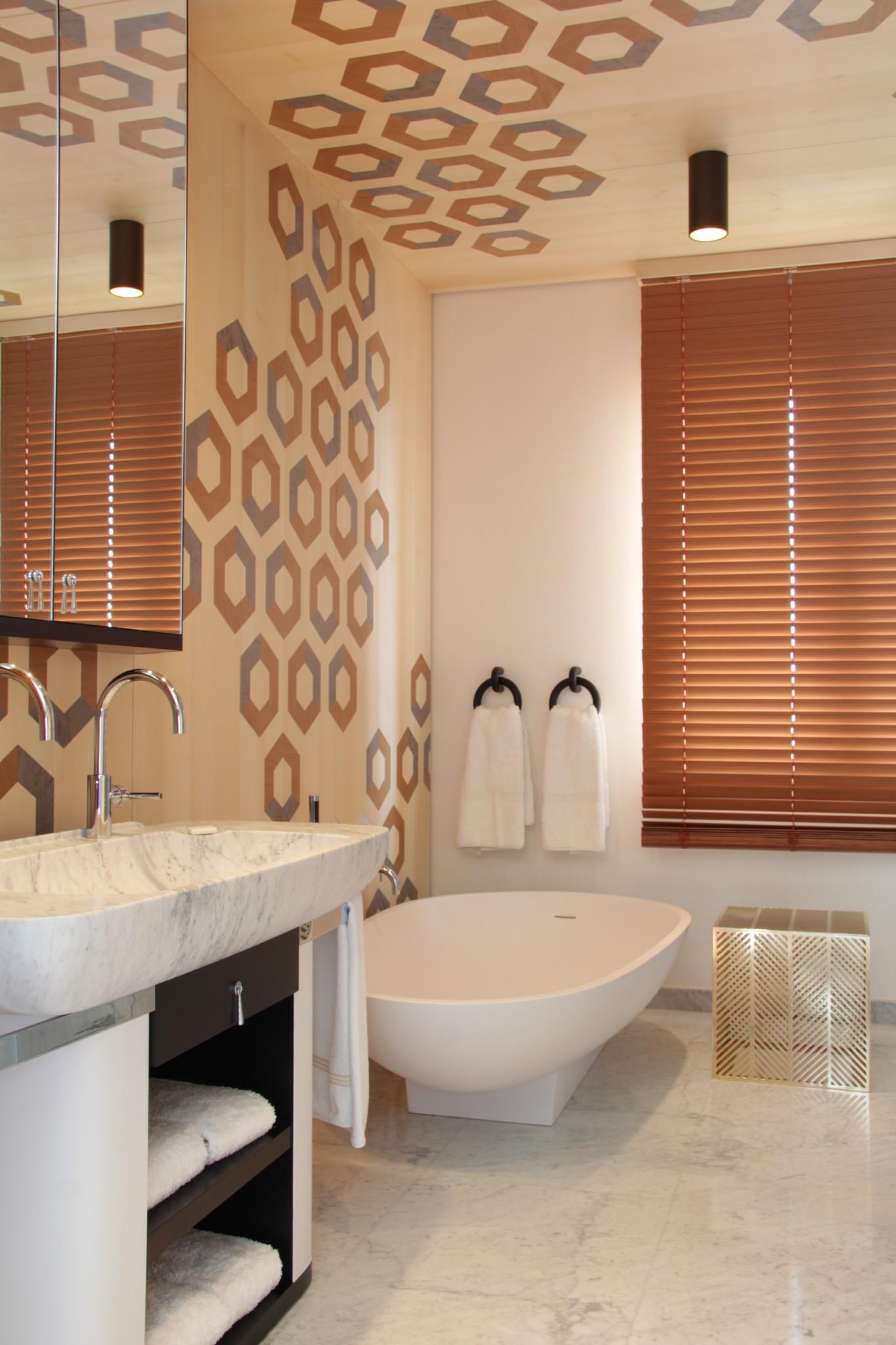 Lavorazioni Marmo per casa privata nei bagni (Marmi Valmalenco)