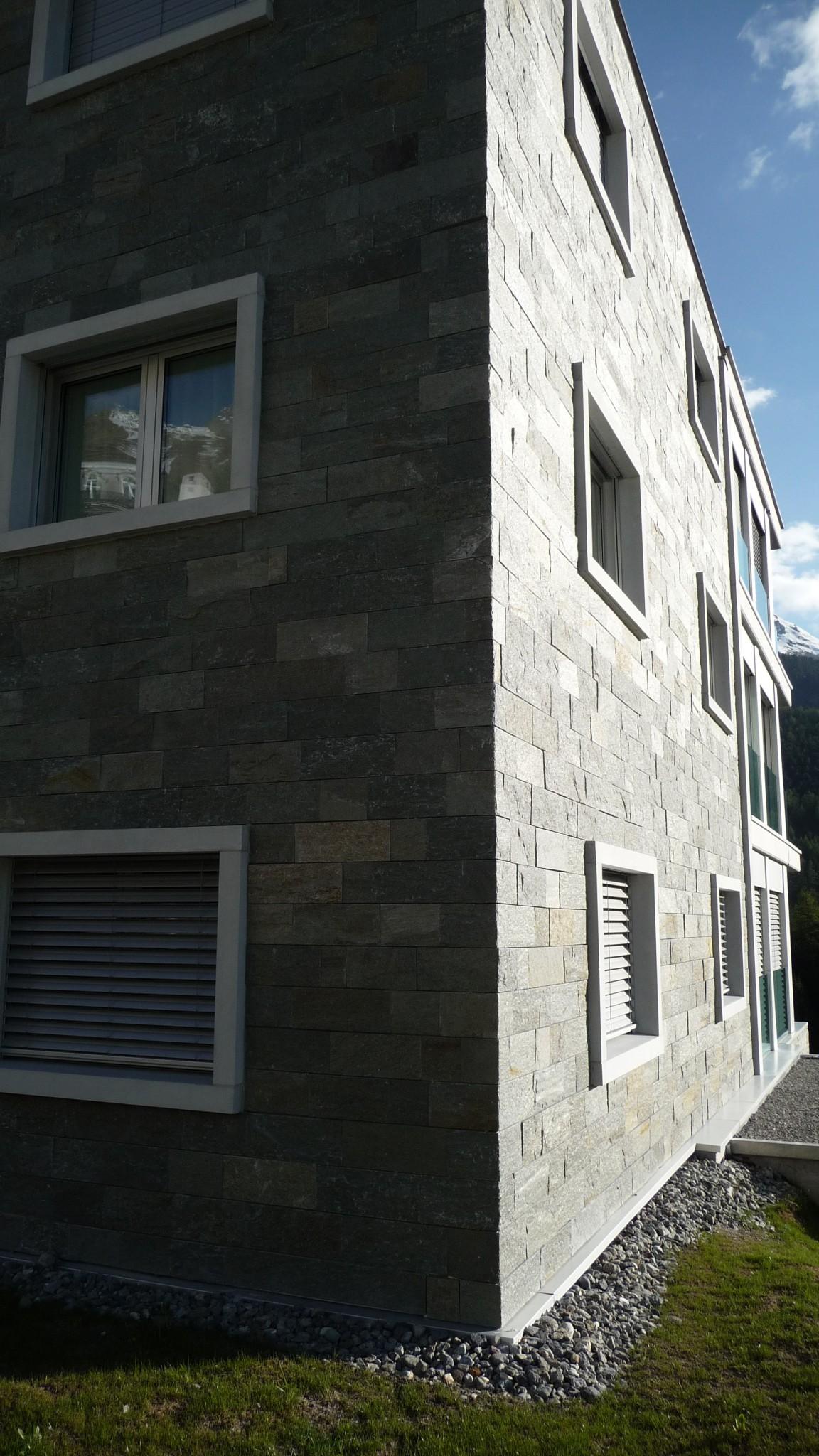 Dal taglio marmo alla realizzazione edificio in marmo della Valmaleco