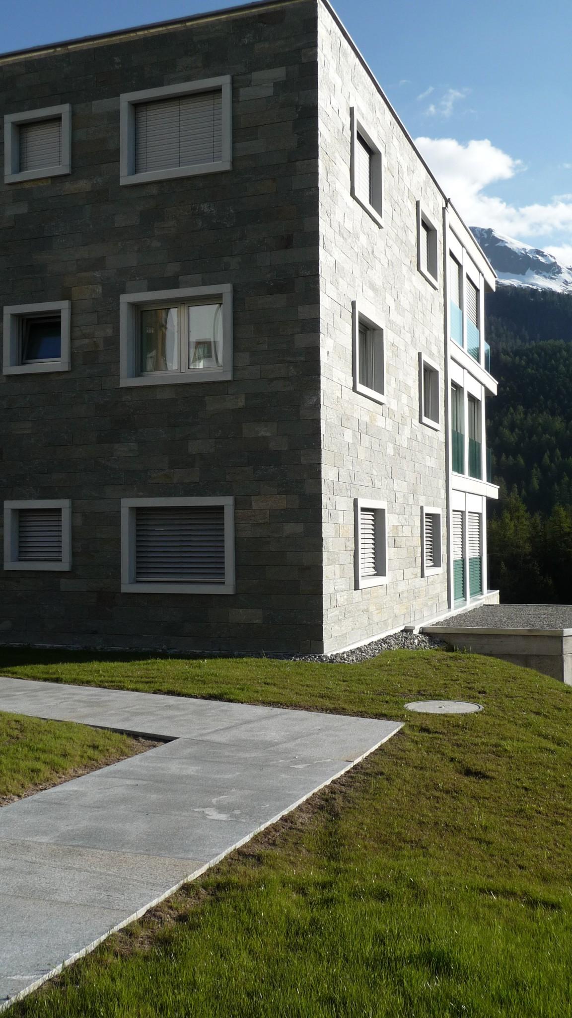palazzi in marmo della Valmalenco