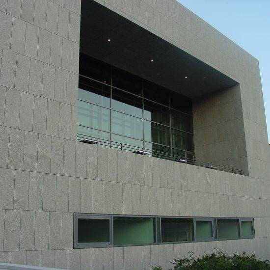Progetto Università Salisburgo: edificio in marmo
