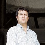 CHIESA VALMALENCO, ITALY - AUGUST 22: Silvino Pedrotti, father of Katia of GF4,  poses for a portrait session in his company: the Marmi Pedrotti Graniti, on August 22, 2006 in Chiesa Valmalenco, Sondrio, Italy.  (Photo by Alessandro Albert/Getty Images)
