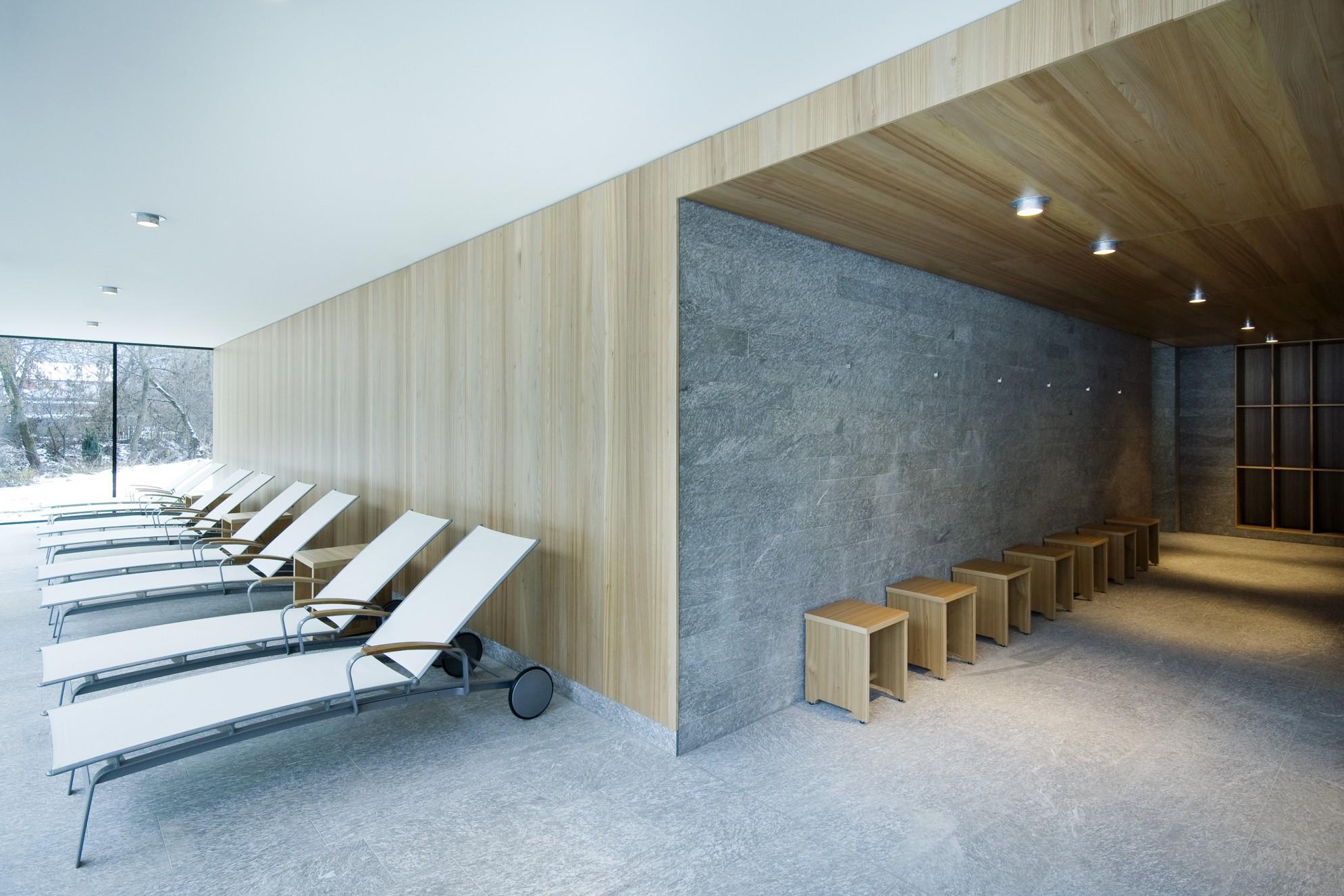 Hotel Alpenhof - Austria - la zona benessere in marmi e graniti della Valmalenco
