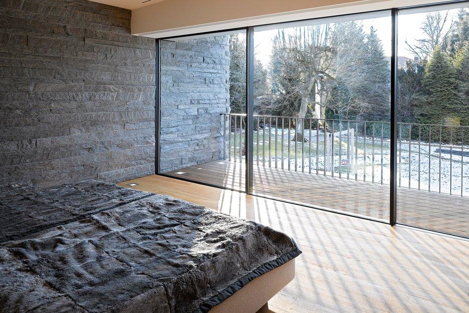 HouseM a Grunwald - Germany - foto interna con marmi della valmalenco