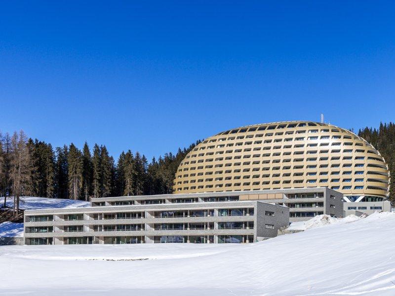 Portfolio Marmi Valmalenco: hotel Intercontinental a Davos