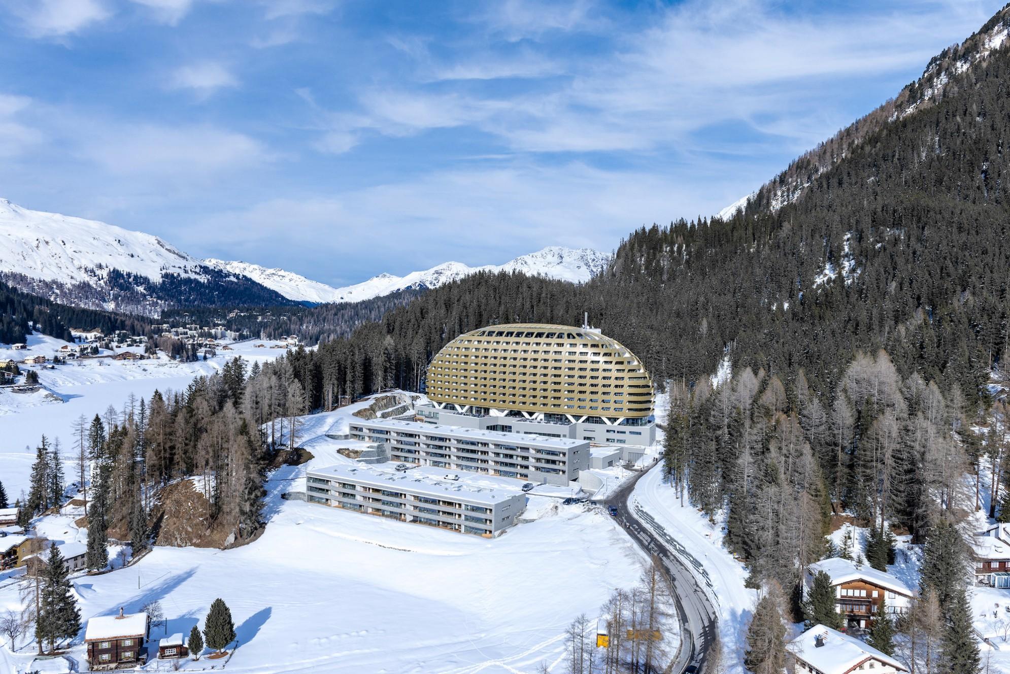Prestigiosi rivestimenti utilizzati presso hotel Intercontinental a Davos