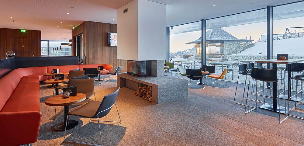 Prospettiva del Piz Boe Alpine Lounge (marmo della Valmalenco)