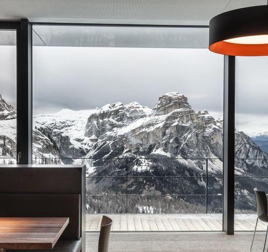 Interni per ristoranti in marmo
